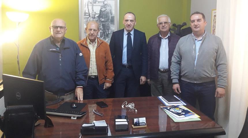 Επίσκεψη του συνδέσμου εφέδρων αξιωματικών νομού Καρδίτσας στον Αντιπεριφερειάρχη Θεσσαλίας κ. Καράγιαννη Νικόλαο