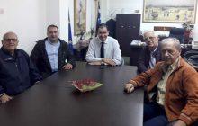 Συνάντηση Κ. Νούσιου με το ΔΣ των Εφέδρων Αξιωματικών Νομού Καρδίτσας
