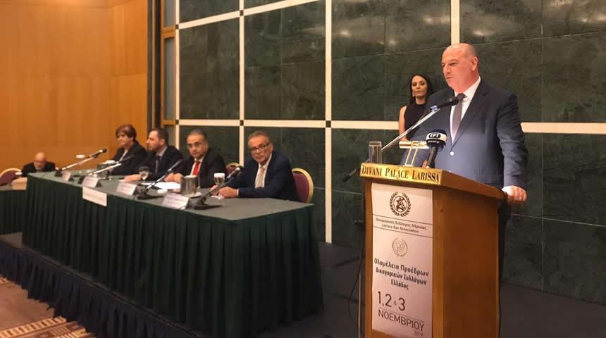 Κώστας Τσιάρας: Υποχρεωτική η παρουσία των δικηγόρων σε όλα τα στάδια της διαδικασίας της Διαμεσολάβησης