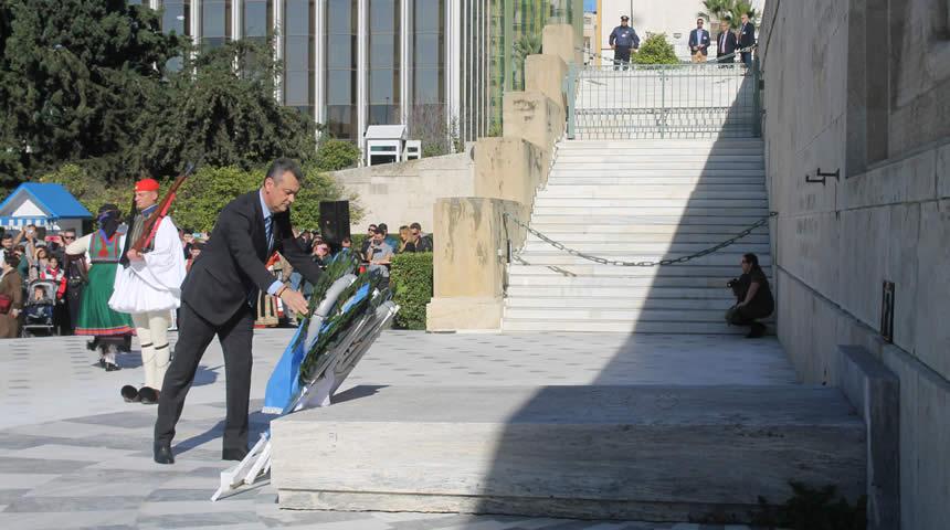 Στην εκδήλωση για την απελευθέρωση της Θεσσαλίας ο Γ. Κωτσός