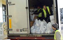 Διανομή τροφίμων στις οικογένειες του ΚΕΑ-TEBA από το Δήμο Καρδίτσας και τους Δήμους-εταίρους