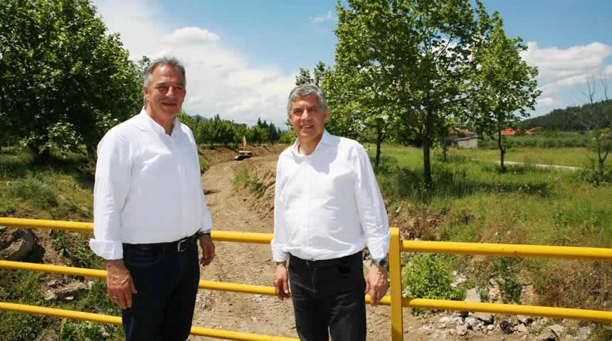 Δημοπρατούνται από την Περιφέρεια Θεσσαλίας 20 χλμ. υπόγεια αρδευτικά δίκτυα στην περιοχή της Φαρκαδόνας