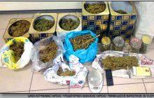Λάρισα: Σύλληψη 50χρονου με πάνω από 1,8 κιλά κάνναβης και πέντε δενδρύλλια