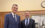 Συνάντηση Κωτσού Με το Διοικητή Της Τράπεζας Ελλάδος κ. Γιάννη Στουρνάρα