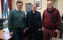 Συνάντηση Δημάρχου Πλαστήρα με διοίκηση και στελέχη του e-Trikala