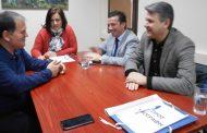 Επίσκεψη της διοίκησης της Συνεταιριστικής Τράπεζας Καρδίτσας  στο Δήμο Λίμνης Πλαστήρα.
