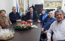 Συνάντηση Κ. Νούσιου με το Δ.Σ. του Συλλόγου Πολιτικών Συνταξιούχων Δημοσίου Ν. Καρδίτσας