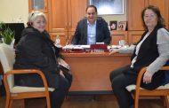 Συνάντηση του Δημάρχου Καρδίτσας με εκπροσώπους των Καθαριστριών Θεσσαλίας