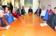 Στον Δήμαρχο Καρδίτσας κ. Β. Τσιάκο ο υποδιοικητής της 5ης ΥΠΕ και πρόεδρος του ΕΚΑΒ
