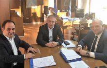 Συνάντηση Τσιάκου και Τσιάρα με τον κ. Θεοδωρικάκο για ζητήματα του Δήμου Καρδίτσας