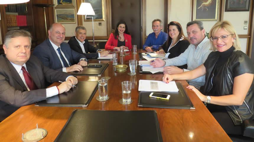 Συνάντηση του Υπουργού Δικαιοσύνης με τον Περιφερειάρχη Θεσσαλίας