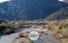 Αγιασμός των υδάτων στο Μουζάκι (video - drone)