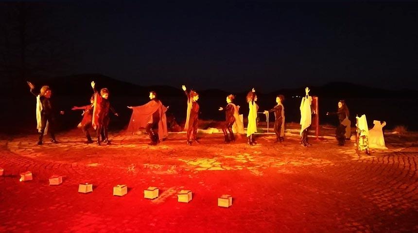 Υποδοχή του νέου χρόνου από τον Δήμο Πλαστήρα με το χοροθέατρο Ιωάννη Τρούκη από την ομάδα