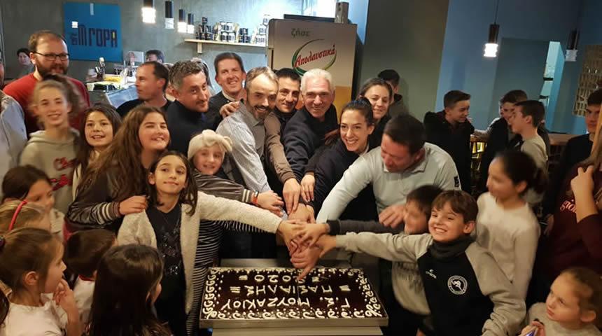 Σε οικογενειακό κλίμα έκοψε την πίτα του ο Γ.Σ Μουζακίου & Περιχώρων «Γ. ΠΑΣΙΑΛΗΣ»