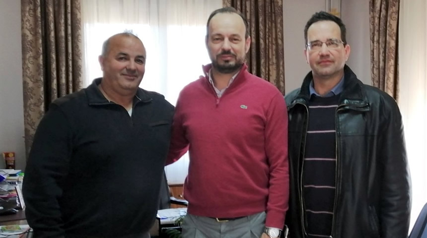 Επίσκεψη Κ.Σ. Καρδίτσας στο Δήμαρχο Μουζακίου κ. Στάθη