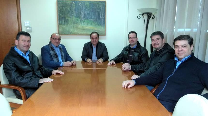 Συνάντηση Δημάρχου Καρδίτσας με τη διοίκηση του Κυνηγετικού Συλλόγου Καρδίτσας