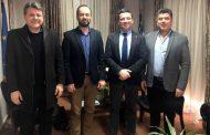 Εθιμοτυπική συνάντησηΔημάρχου Μουζακίου με τον πρόεδρο της Συνεταιριστικής Τράπεζας Καρδίτσας