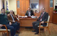 Συνάντηση Δημάρχου Καρδίτσας με εκπροσώπους της Συνεταιριστικής Τράπεζας Θεσσαλίας