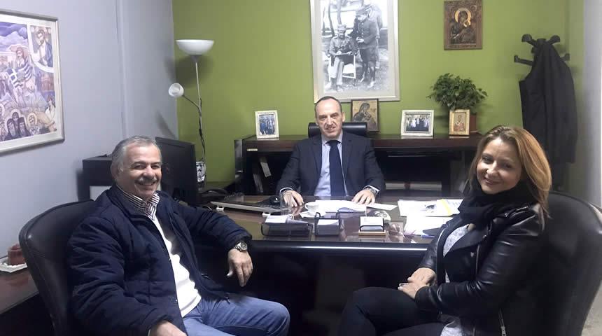 Στο Θεματικό Αντιπεριφερειάρχη Νίκο Καραγιάννη αντιπροσωπεία του Δ.Σ Τριτέκνων Ν. Καρδίτσας