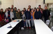 Στο Δημαρχείο Καρδίτσας τα παιδιά της 6ης τάξης του 12ου Δημοτικού Σχολείου Καρδίτσας