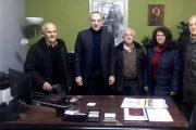 Συνάντηση «ΑΡΙΩΝΑ» με το Θεματικό Αντιπεριφερειάρχη Νίκο Καραγιάννη