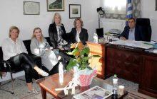 Συνάντηση Δημάρχου Πύλης με τη διοίκηση της Ελληνικής Αντικαρκινικής Εταιρίας -Παράρτημα Τρικάλων