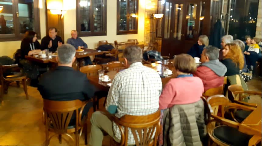 Συνάντηση δημοτικής αρχής Δ. Λίμνης Πλαστήρα με τους επαγγελματίες του Τουρισμού
