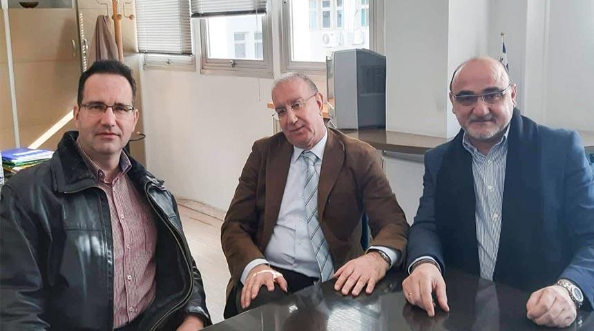Συνάντηση του Προεδρείου του Ιατρικού Συλλόγου Καρδίτσας με νέο Διοικητή του Νοσοκομείου Καρδίτσας