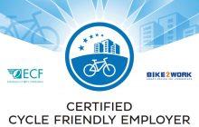 """Καρδίτσα η πρώτη πόλη της Ελλάδας με σήμα """"Cycle Friendly Employer"""""""