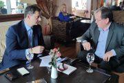 Συνάντηση Υπουργού Τουρισμού - Δημάρχου Λίμνης Πλαστήρα