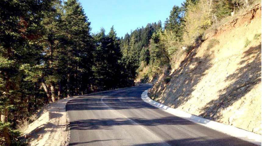 Προχωρά η συντήρηση του οδικού τμήματος Νεράιδα – Τριφύλλα