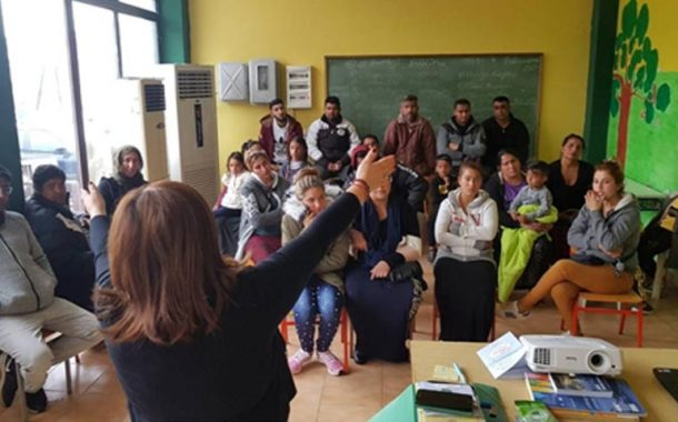 Ενημέρωση για τη γρίπη στο παράρτημα Ρομά Σοφάδων