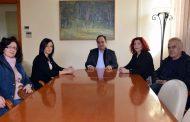 Συνάντηση Β. Τσιάκου με εκπροσώπους του Συλλόγου Ατόμων και Φίλων με Αυτισμό Δ. Θεσσαλίας
