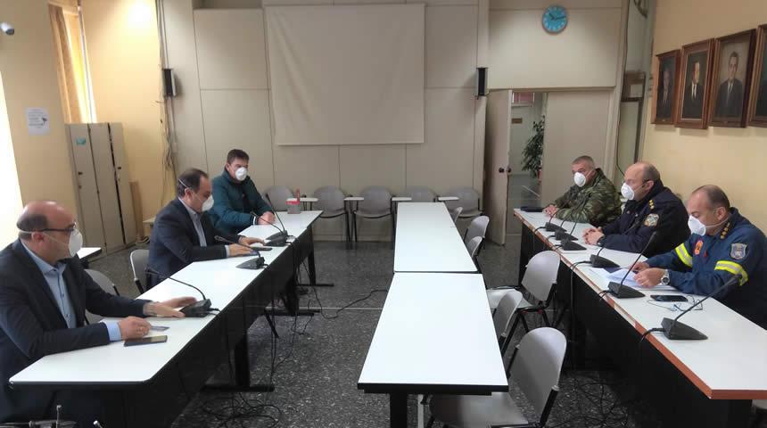 Συνεδρίασε το πρωί της Δευτέρας το άτυπο συντονιστικό του Δήμου Καρδίτσας
