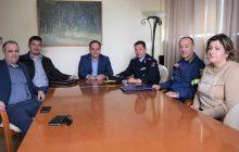 Με το Δήμαρχο Καρδίτσας κ. Β. Τσιάκο συναντήθηκε ο υποστράτηγος της Π.Υ. κ. Μ. Αποστολίδης