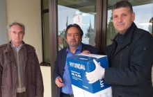 Δωρεά του Κυνηγετικού Συλλόγου Πύλης στο Κέντρο Υγείας Πύλης
