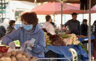 Καρδίτσα: Μέτρα προστασίας από τον κορωνοιό στην εβδομαδιαία λαϊκή αγορά της Τετάρτης
