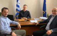 Συνάντηση του Προέδρου του Ι.Σ. Καρδίτσας με τους δύο Υποδιοικητές της 5ης ΥΠΕ