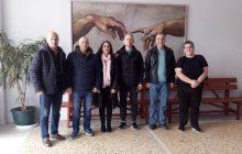 Συνάντηση μελών του νέου ΔΣ του Συλλόγου Γονέων & Κηδεμόνων ΓΕΛ Μουζακίου με το Δ/ντη και εκπ/κούς του σχολείου