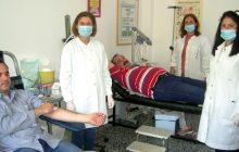 Τράπεζα Αίματος Μαυρομματίου - Πραγματοποιήθηκε η προγραμματισμένη αιμοληψία