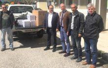 Υγειονομικό υλικό προσέφερε στο Νοσοκομείο η Δημοτική Επιχείρηση Ύδρευσης και Αποχέτευσης (ΔΕΥΑΚ) του Δήμου Καρδίτσας