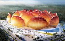 Εντυπωσιακές εικόνες από το υπό κατασκευήν μεγαλύτερο γήπεδο ποδοσφαίρου στον κόσμο
