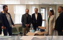 Υγειονομικό υλικό στα Κέντρα Υγείας παρέδωσαν οι Δήμαρχοι Σοφάδων, Παλαμά και Μουζακίου