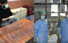 Στα άδυτα του Πανεπιστημίου Θεσσαλίας: Οι ήρωες που φτιάχνουν προσωπίδες για τα νοσοκομεία