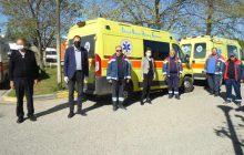 Επισκέψεις του Αντιπεριφερειάρχη Π.Ε Καρδίτσας κ. Κωστή Νούσιου και περιφερειακών συμβούλων σε υπηρεσίες και ιδρύματα για τις ευχές του Πάσχα