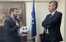 Δέσμευση Κ. Μπαγινέτα σε Γ. Κωτσό για ένταξη όλων των εγκεκριμένων επενδυτικών προτάσεων στο LEADER Ν. Καρδίτσας