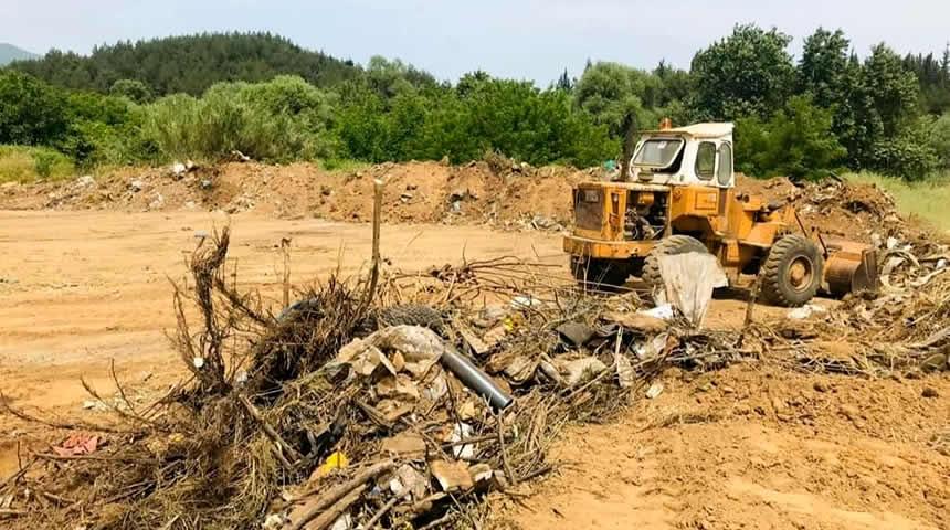 Αποκαταστάθηκαν χώροι που είχαν μεταβληθεί σε σκουπιδότοπους στην Μητρόπολη