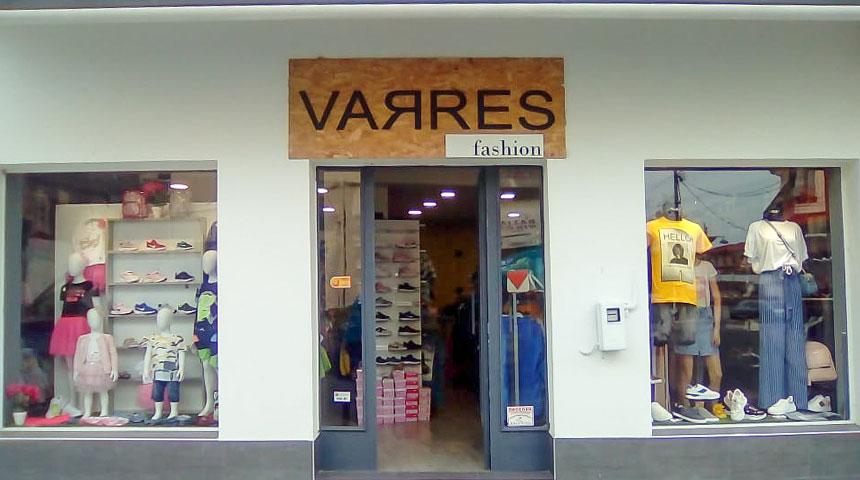 Ένδυση-υπόδηση VARRES fashion στο Μουζάκι