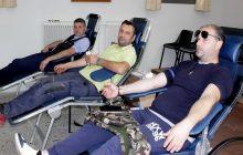 Απόλυτη επιτυχία είχε η εθελοντική αιμοδοσία στην αίθουσα του ΔΣ Πύλης
