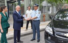 Δωρεά οχήματος για τις ανάγκες της της Διεύθυνσης Αστυνομίας Λάρισας